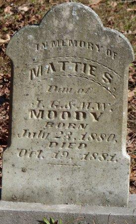 MOODY, MATTIE S - Colbert County, Alabama | MATTIE S MOODY - Alabama Gravestone Photos