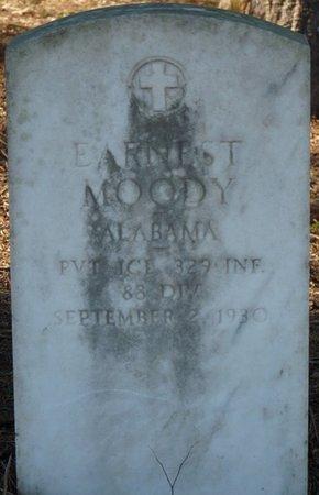 MOODY (VETERAN), EARNEST - Colbert County, Alabama | EARNEST MOODY (VETERAN) - Alabama Gravestone Photos