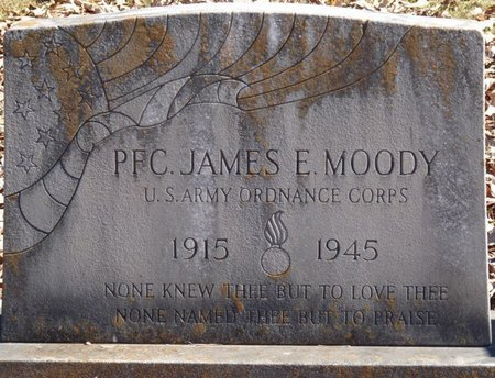 MOODY (VETERAN), JAMES E - Colbert County, Alabama | JAMES E MOODY (VETERAN) - Alabama Gravestone Photos