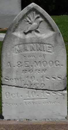 MOOG, MANNIE - Colbert County, Alabama | MANNIE MOOG - Alabama Gravestone Photos