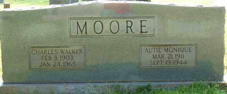 MOORE, CHARLES WALKER - Colbert County, Alabama | CHARLES WALKER MOORE - Alabama Gravestone Photos