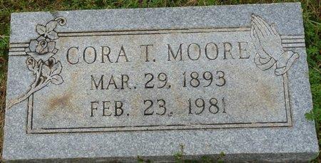 MOORE, CORA T - Colbert County, Alabama | CORA T MOORE - Alabama Gravestone Photos