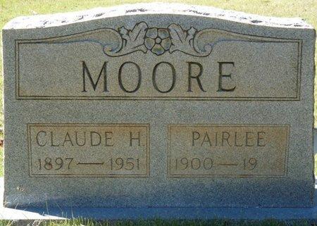 MOORE, PAIRLEE - Colbert County, Alabama   PAIRLEE MOORE - Alabama Gravestone Photos