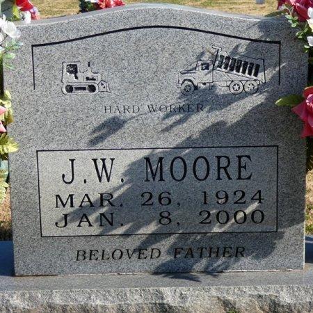 MOORE, J.W. - Colbert County, Alabama | J.W. MOORE - Alabama Gravestone Photos