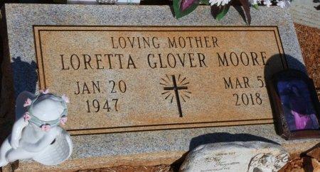 MOORE, LORETTA - Colbert County, Alabama   LORETTA MOORE - Alabama Gravestone Photos
