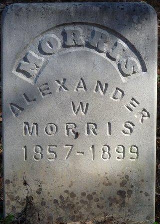 MORRIS, ALEXANDER W - Colbert County, Alabama   ALEXANDER W MORRIS - Alabama Gravestone Photos