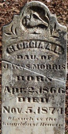 MORRIS, GEORGIA A.L. - Colbert County, Alabama | GEORGIA A.L. MORRIS - Alabama Gravestone Photos