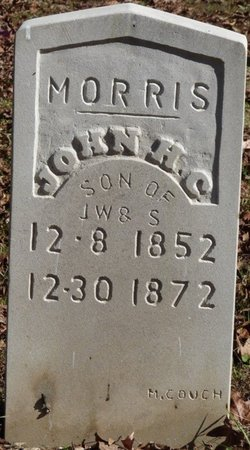MORRIS, JOHN H.C. - Colbert County, Alabama | JOHN H.C. MORRIS - Alabama Gravestone Photos