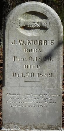 MORRIS, J.W. - Colbert County, Alabama | J.W. MORRIS - Alabama Gravestone Photos
