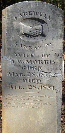 MORRIS, LARRAU A - Colbert County, Alabama | LARRAU A MORRIS - Alabama Gravestone Photos