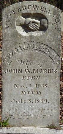 MORRIS, PAIRALEE A - Colbert County, Alabama | PAIRALEE A MORRIS - Alabama Gravestone Photos