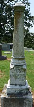MOSES, ABRAM J - Colbert County, Alabama | ABRAM J MOSES - Alabama Gravestone Photos