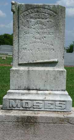 MOSES, FELIX INCLESBY - Colbert County, Alabama | FELIX INCLESBY MOSES - Alabama Gravestone Photos