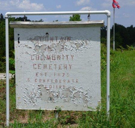 *MOUNTAIN MILLS COMMUNITY, CEMETERY - Colbert County, Alabama | CEMETERY *MOUNTAIN MILLS COMMUNITY - Alabama Gravestone Photos