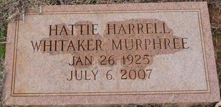 MURPHREE, HATTIE - Colbert County, Alabama | HATTIE MURPHREE - Alabama Gravestone Photos