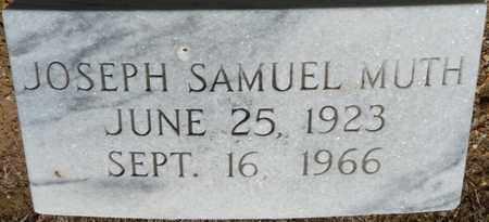 MUTH, JOSEPH SAMUEL - Colbert County, Alabama   JOSEPH SAMUEL MUTH - Alabama Gravestone Photos