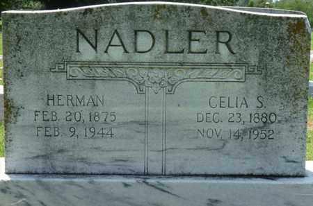 NADLER, HERMAN - Colbert County, Alabama | HERMAN NADLER - Alabama Gravestone Photos