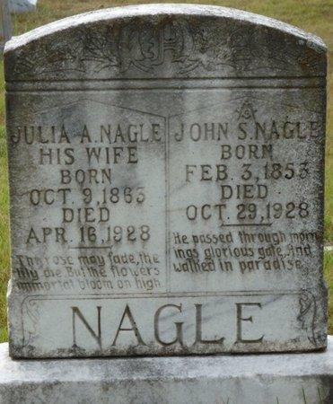 GIBSON NAGLE, JULIA A - Colbert County, Alabama   JULIA A GIBSON NAGLE - Alabama Gravestone Photos