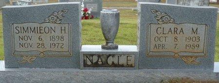 NAGLE, CLARA M - Colbert County, Alabama | CLARA M NAGLE - Alabama Gravestone Photos