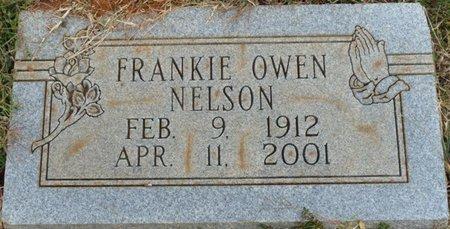 NELSON, FRANKIE OWEN - Colbert County, Alabama   FRANKIE OWEN NELSON - Alabama Gravestone Photos