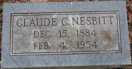 NESBITT, CLAUDE C - Colbert County, Alabama | CLAUDE C NESBITT - Alabama Gravestone Photos