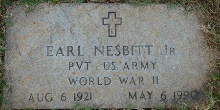 NESBITT JR. (VETERAN WWII), EARL - Colbert County, Alabama | EARL NESBITT JR. (VETERAN WWII) - Alabama Gravestone Photos