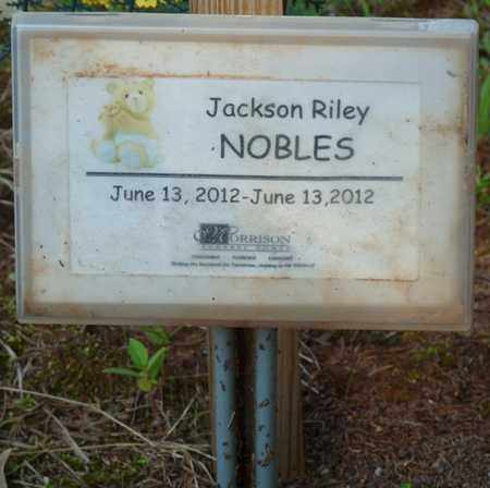 NOBLES, JACKSON RILEY - Colbert County, Alabama | JACKSON RILEY NOBLES - Alabama Gravestone Photos