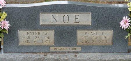 NOE, LESTER W - Colbert County, Alabama   LESTER W NOE - Alabama Gravestone Photos
