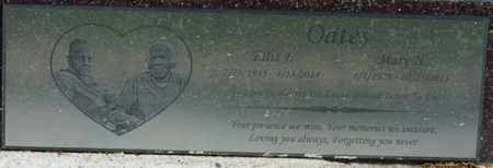 OATES, MARY H - Colbert County, Alabama | MARY H OATES - Alabama Gravestone Photos
