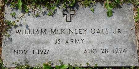 OATES JR. (VETERAN), WILLIAM MCKINLEY - Colbert County, Alabama   WILLIAM MCKINLEY OATES JR. (VETERAN) - Alabama Gravestone Photos
