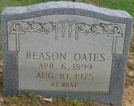 OATES, REASON - Colbert County, Alabama | REASON OATES - Alabama Gravestone Photos