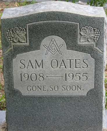 OATES, SAM - Colbert County, Alabama   SAM OATES - Alabama Gravestone Photos