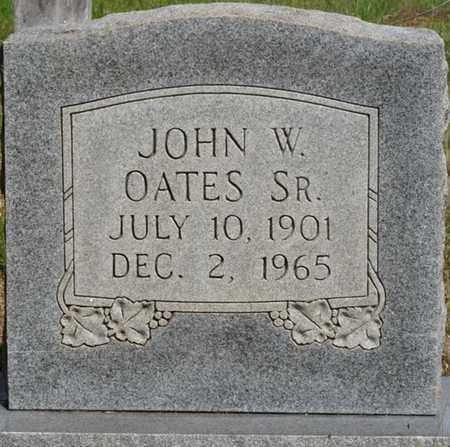 OATES SR., JOHN W - Colbert County, Alabama | JOHN W OATES SR. - Alabama Gravestone Photos