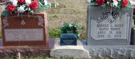 OATES, SR, WILLIAM MCKINLEY - Colbert County, Alabama | WILLIAM MCKINLEY OATES, SR - Alabama Gravestone Photos