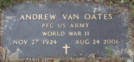 OATES (VETERAN WWII), ANDREW VAN - Colbert County, Alabama   ANDREW VAN OATES (VETERAN WWII) - Alabama Gravestone Photos