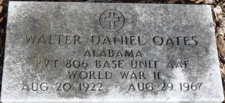 OATES (VETERAN WWII), WALTER DANIEL - Colbert County, Alabama | WALTER DANIEL OATES (VETERAN WWII) - Alabama Gravestone Photos