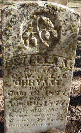 O'BRYANT, ESTELLA A - Colbert County, Alabama | ESTELLA A O'BRYANT - Alabama Gravestone Photos