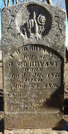 O'BRYANT, L. BELLE - Colbert County, Alabama | L. BELLE O'BRYANT - Alabama Gravestone Photos
