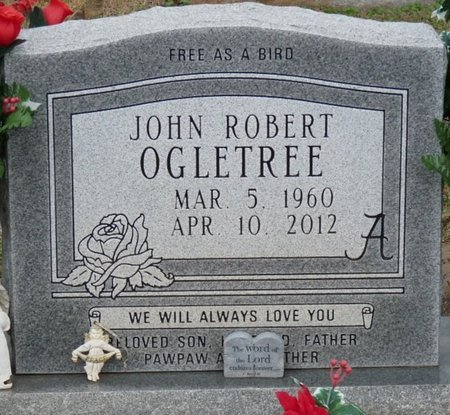 OGLETREE, JOHN ROBERT - Colbert County, Alabama | JOHN ROBERT OGLETREE - Alabama Gravestone Photos