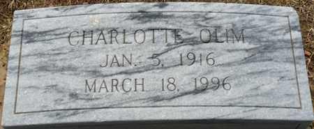 OLIM, CHARLOTTE - Colbert County, Alabama   CHARLOTTE OLIM - Alabama Gravestone Photos