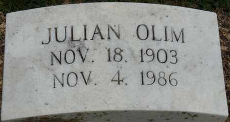OLIM, JULIAN - Colbert County, Alabama | JULIAN OLIM - Alabama Gravestone Photos