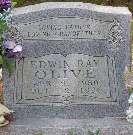 OLIVE, EDWIN RAY - Colbert County, Alabama   EDWIN RAY OLIVE - Alabama Gravestone Photos