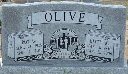 OLIVE, KITTY K - Colbert County, Alabama | KITTY K OLIVE - Alabama Gravestone Photos