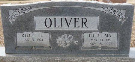 OLIVER, LILLIE MAE - Colbert County, Alabama | LILLIE MAE OLIVER - Alabama Gravestone Photos