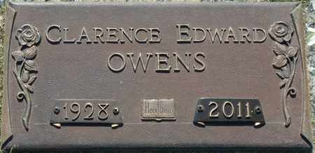 OWENS, CLARENCE EDWARD - Colbert County, Alabama | CLARENCE EDWARD OWENS - Alabama Gravestone Photos