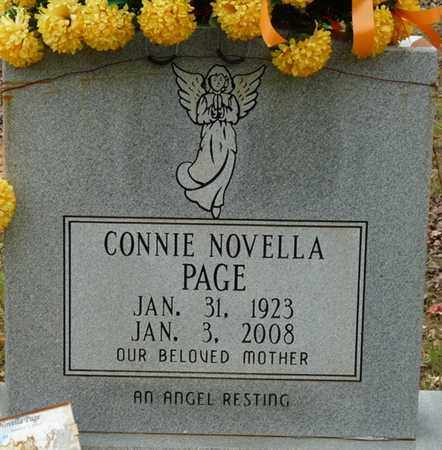 PAGE, CONNIE NOVELLA - Colbert County, Alabama | CONNIE NOVELLA PAGE - Alabama Gravestone Photos