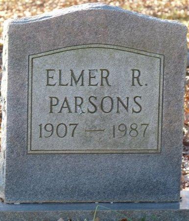PARSONS, ELMER R - Colbert County, Alabama   ELMER R PARSONS - Alabama Gravestone Photos