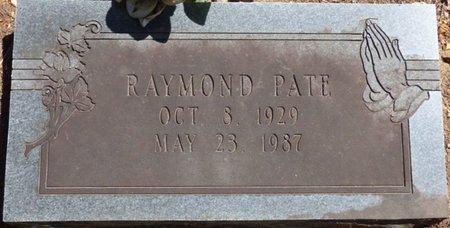 PATE, RAYMOND - Colbert County, Alabama   RAYMOND PATE - Alabama Gravestone Photos