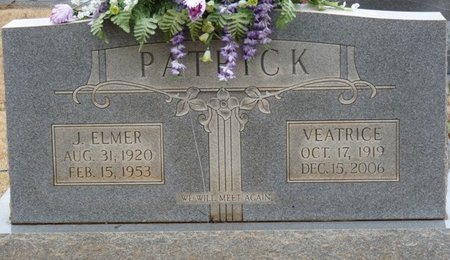MINOR PATRICK, CARRIE VEATRICE - Colbert County, Alabama | CARRIE VEATRICE MINOR PATRICK - Alabama Gravestone Photos
