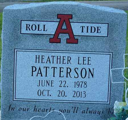 PATTERSON, HEATHER LEE - Colbert County, Alabama | HEATHER LEE PATTERSON - Alabama Gravestone Photos